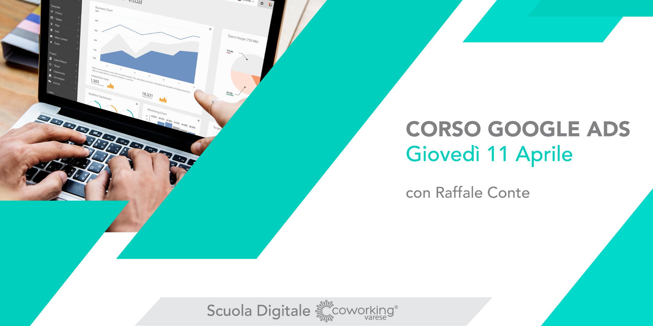 Corso Google ADS Varese