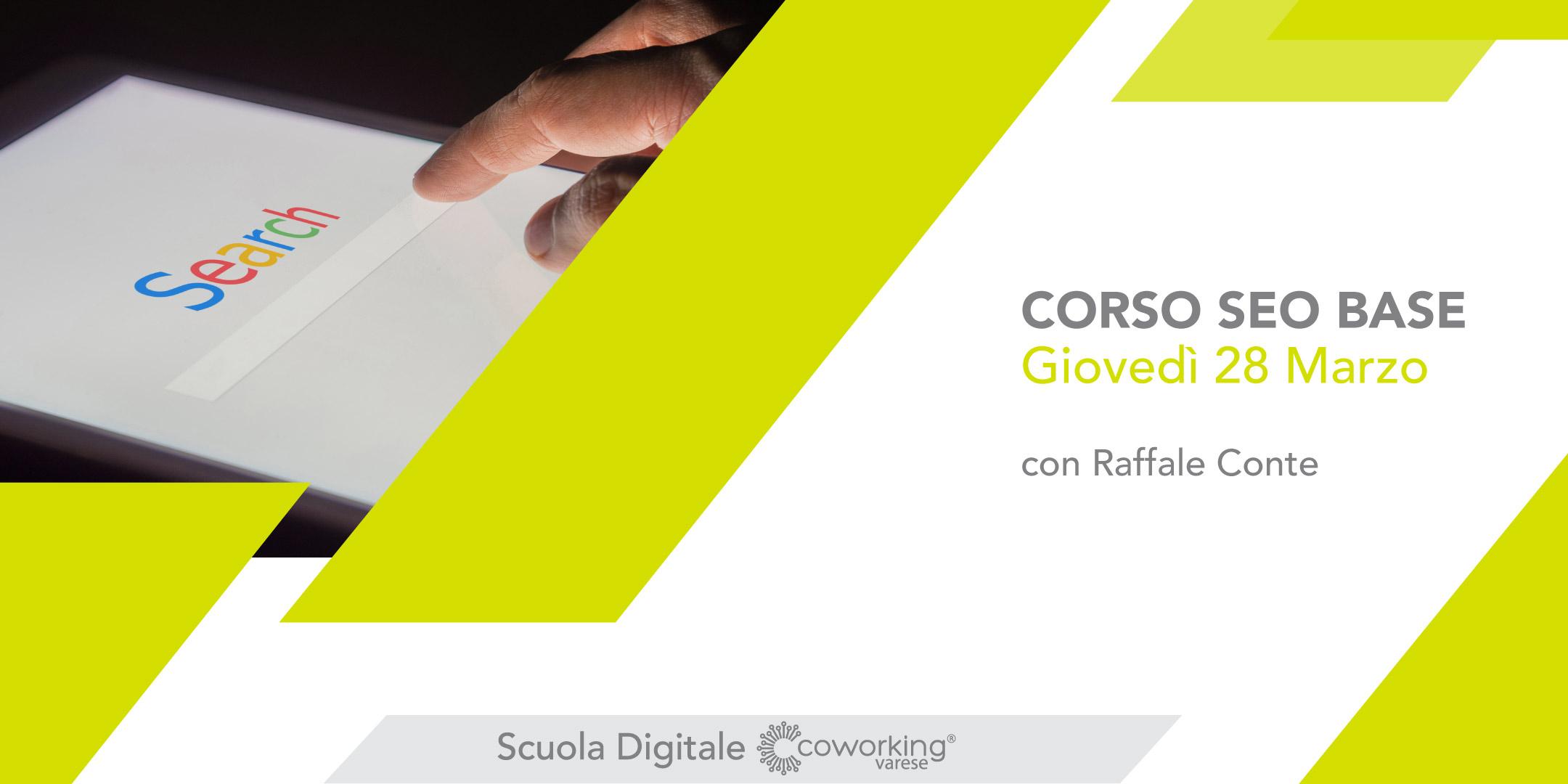 Corso SEO Base Varese