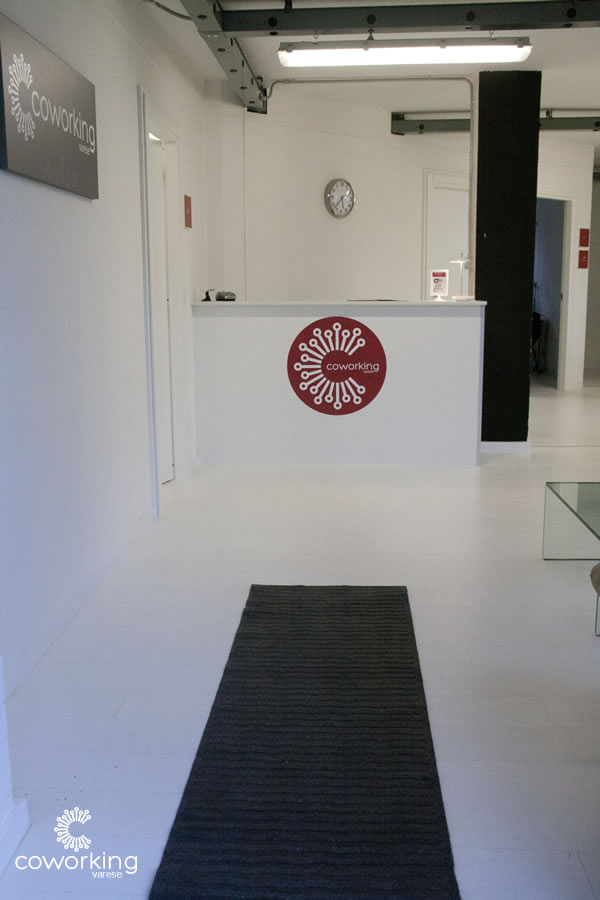 Coworking Varese - Reception
