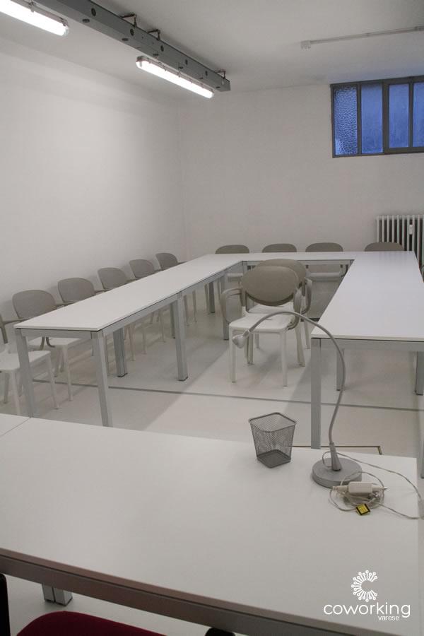 Coworking Varese - Sala Riunioni-Aula