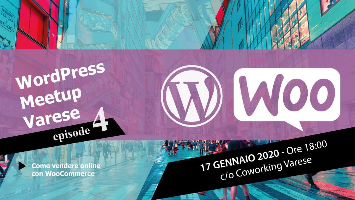Wordpress meetup varese 4 come vendere online con woocommerce